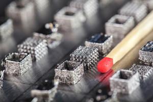 Solche Probekörper aus Metall und Keramik druckt die Empa, um Materialeigenschaften zu testen. Empa