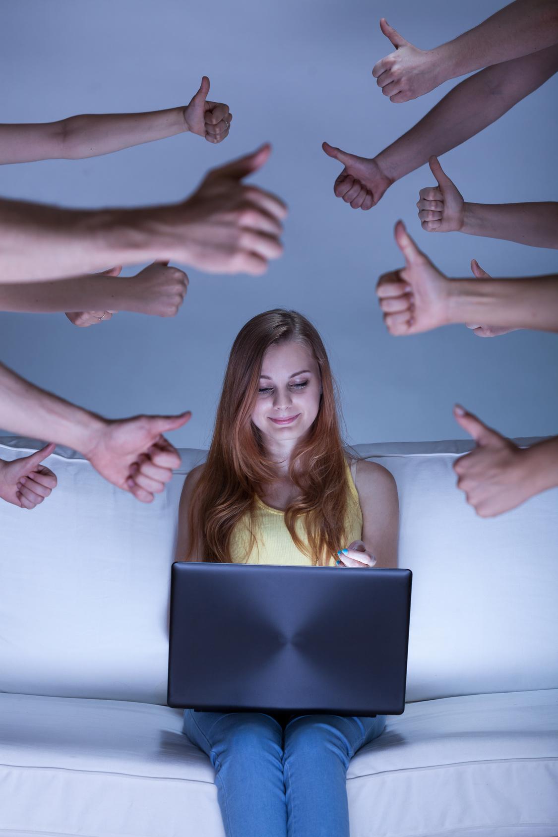 Gehts dir schlecht, lass die Finger von Facebook