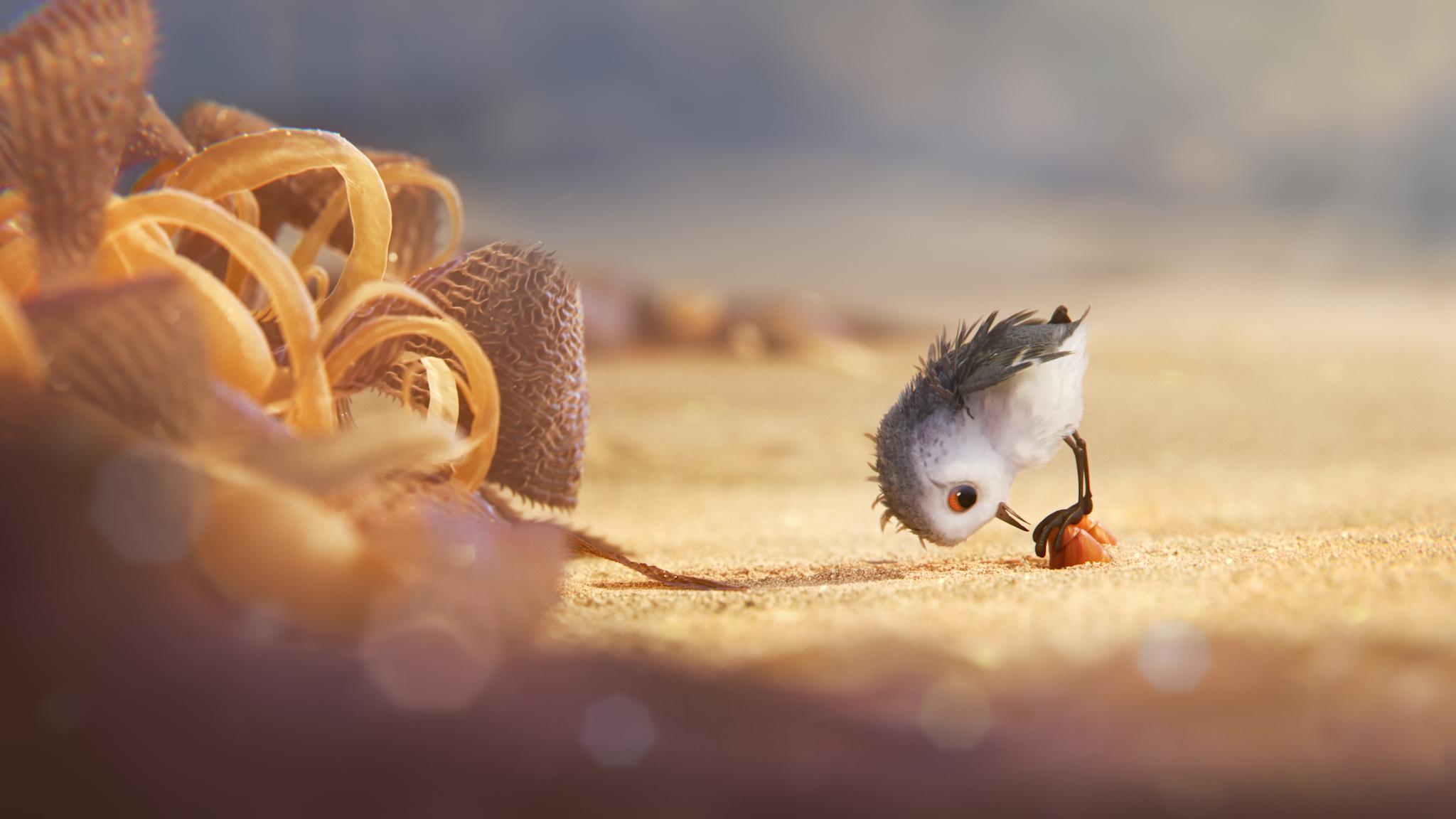 So aufwendig ist es, ein Vögelchen niedlich zu machen