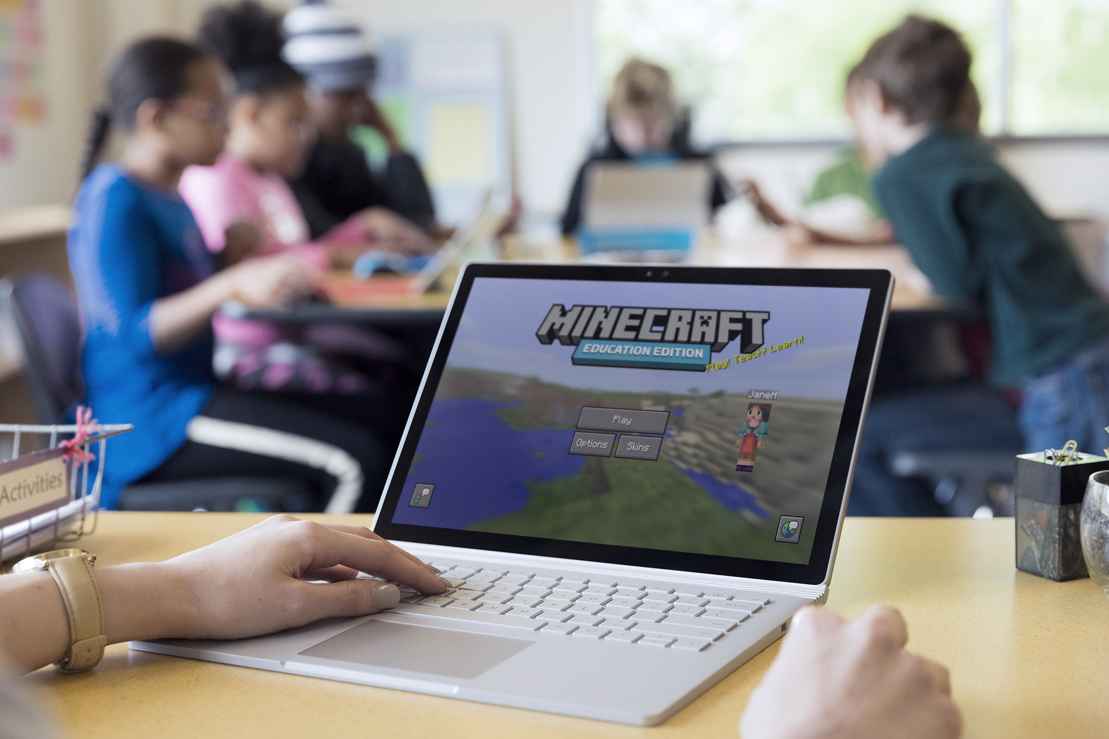 Scitec Media Weshalb Games In Die Schule Gehören - Minecraft spielen kinder