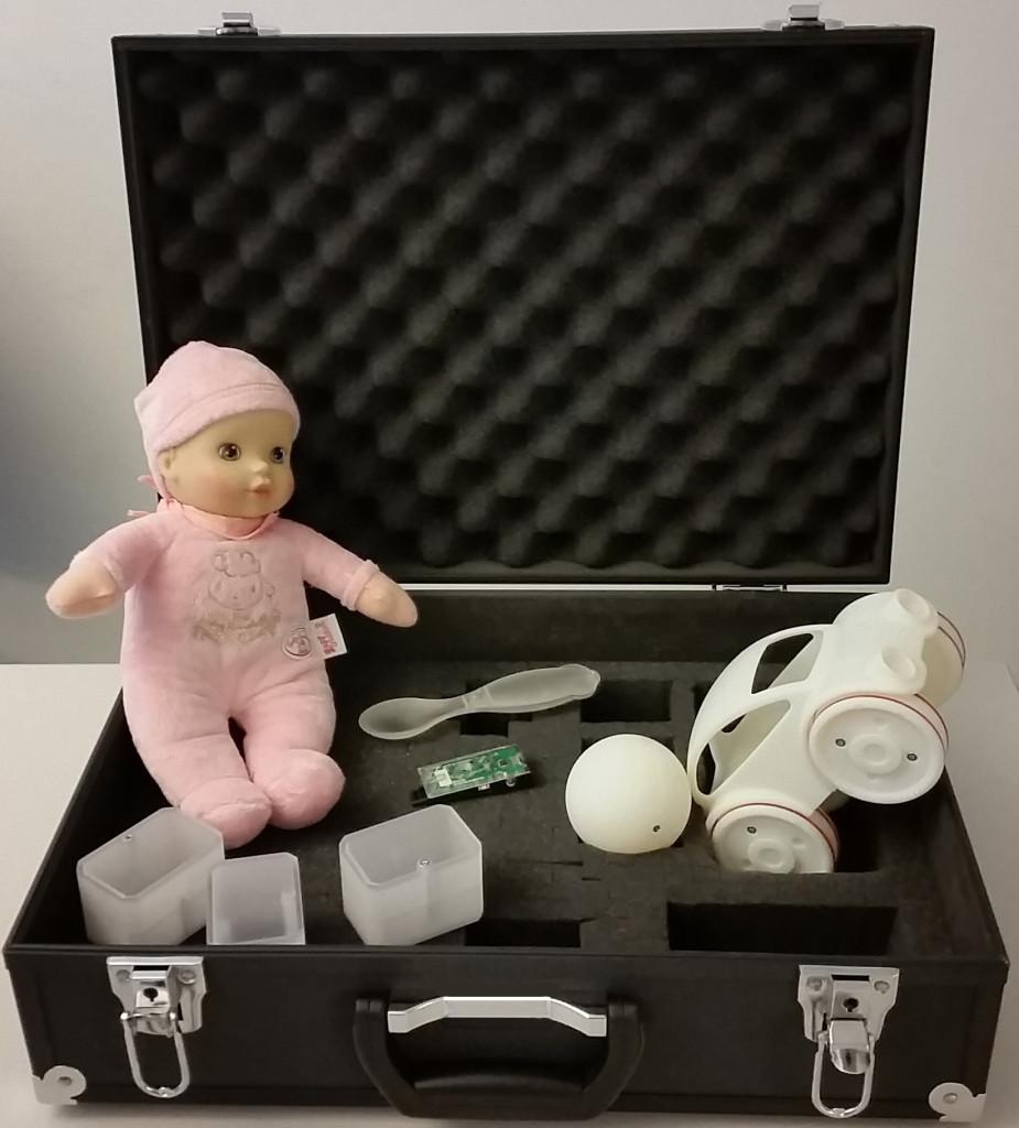 Spielzeuge mit integrierten Sensoren sollen das Spielverhalten von Kleinkindern erfassen. Supsi